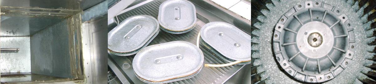 Reinigung von RD-Klappen und Ventilatoren